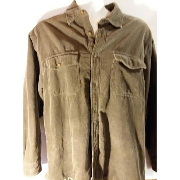 7c960b5328 Levi s Other - Men s size L lined tan levis corduroy shirt jacket